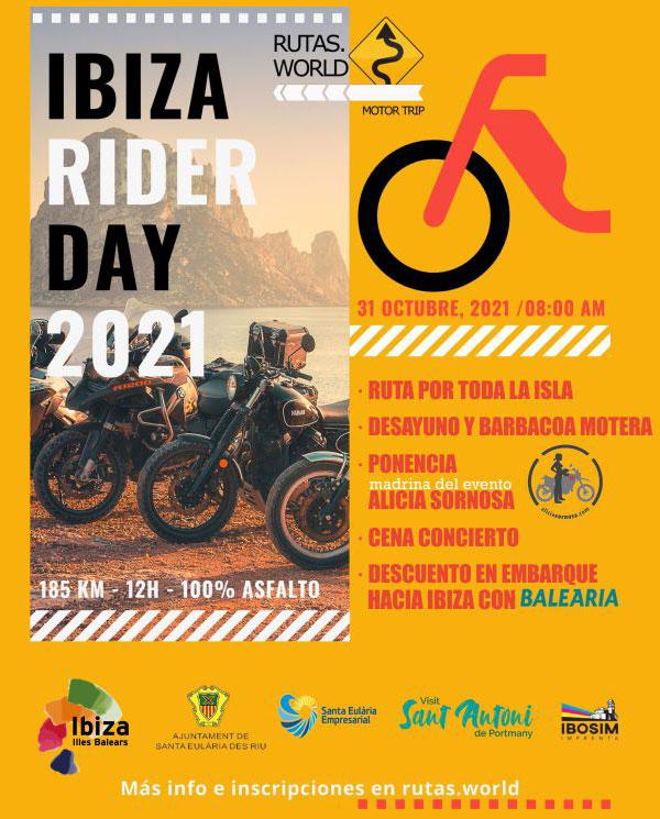 Ibiza Rider Day 2021, por Rutas.World